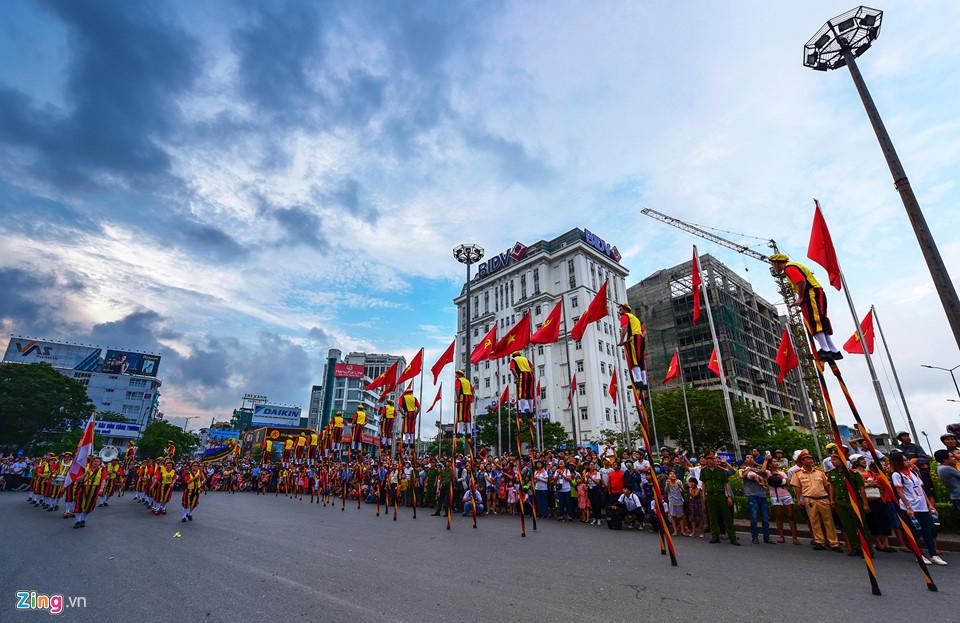 Lễ hội đường phố đặc sắc tại Festival Huế