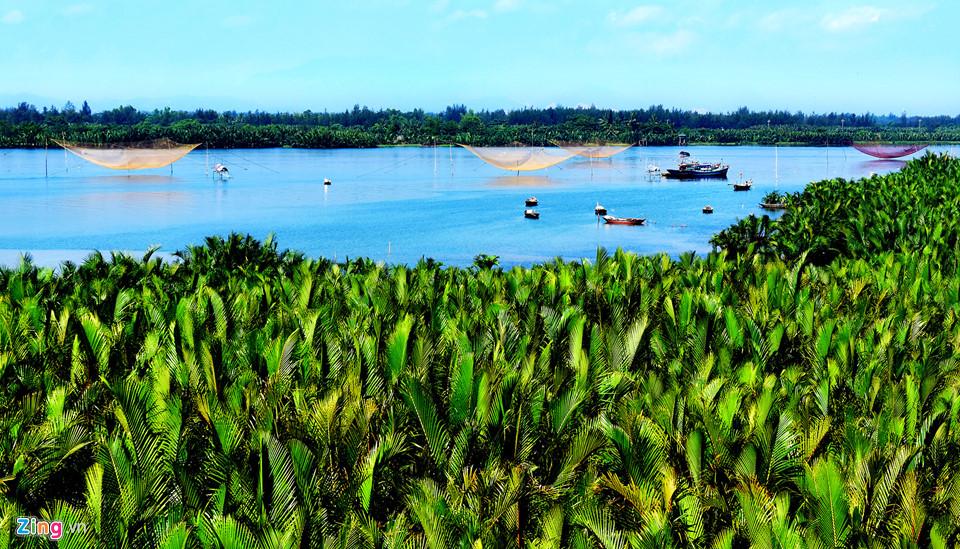 Trải nghiệm độc đáo xuyên rừng dừa nước giữa phố cổ Hội An