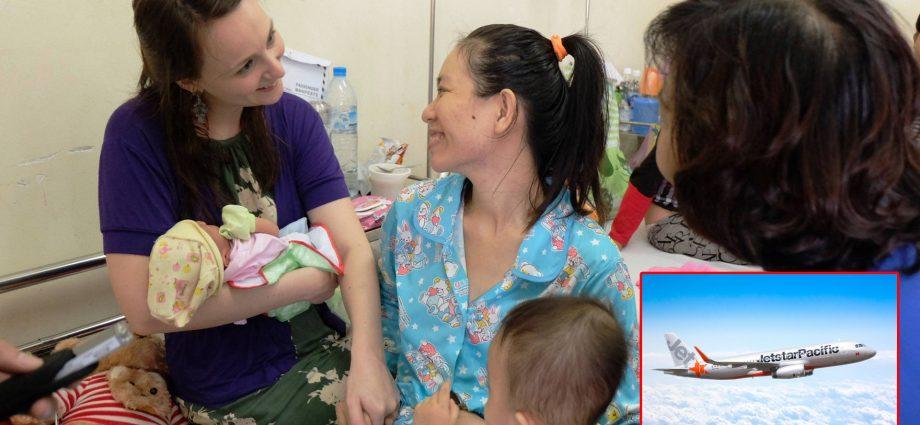 Em bé sinh ra trên bầu trời Đà Nẵng được hưởng phần thưởng cả đời ai cũng mơ ước