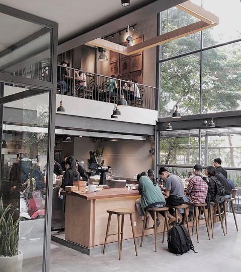 6 quán cà phê xanh mướt để tránh nóng ở Sài Gòn